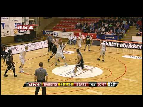 DK4 Highlights: 1. DM finale, Svendborg Rabbits - Bakken Bears, 7. april 2011