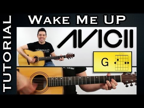 Avicii Wake Me Up de Avicii Tutorial guitarra español Como tocar guitar avicii