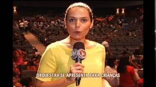 Orquestra Filarm�nica de Minas apresenta para crian�as de escolas p�blicas de BH