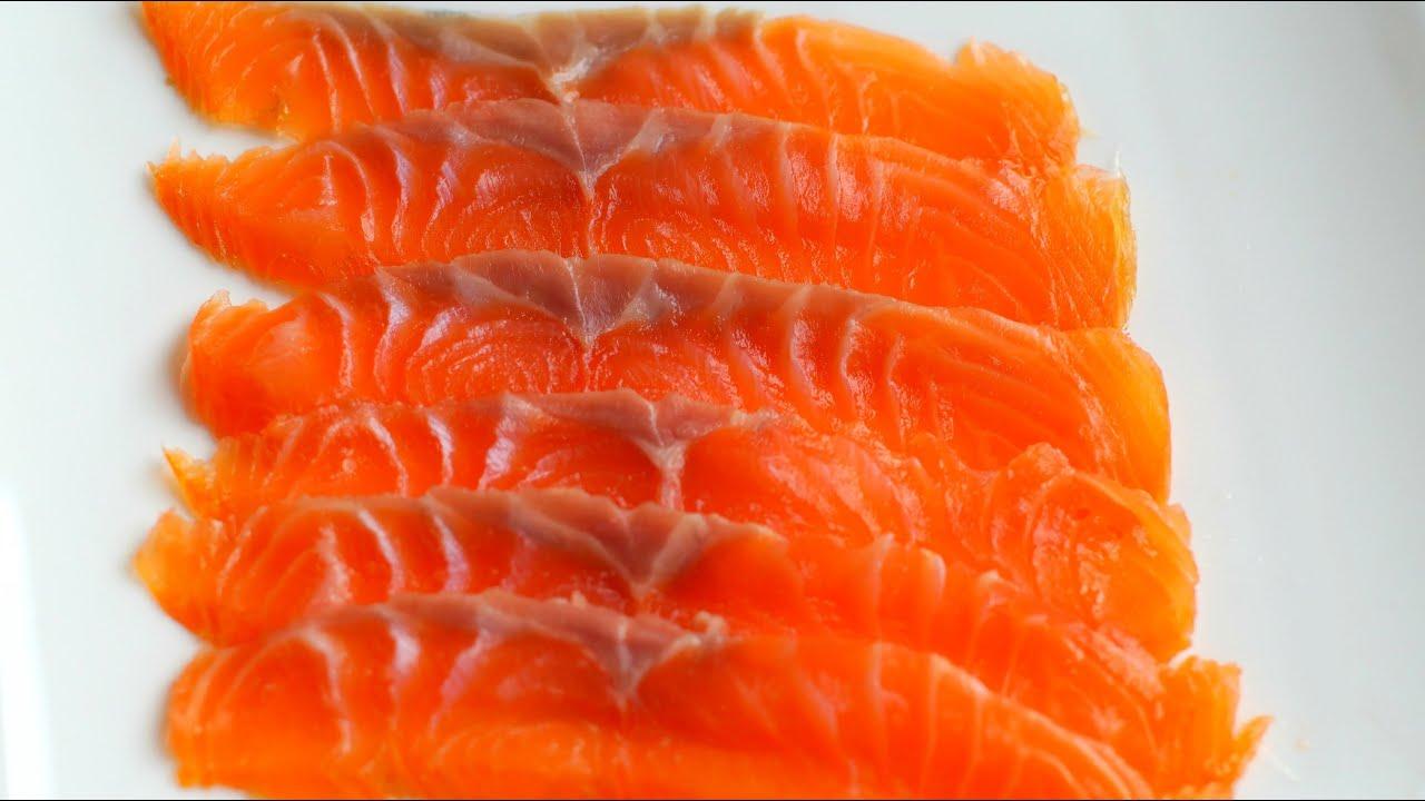 How to cold smoke salmon cold smoked salmon video recipe for Smoked fish recipe