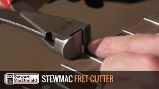 Watch the Trade Secrets Video, Fret Cutter for trimming fret ends