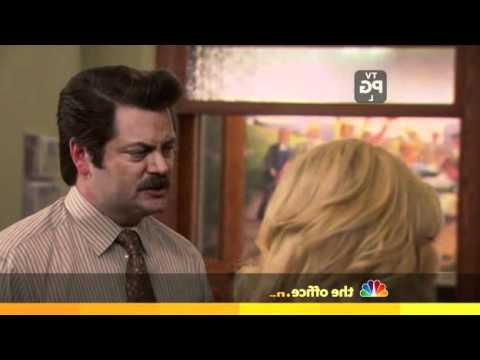 Parks and Recreation: Ron Swanson and puppy
