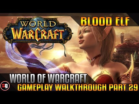 World Of Warcraft Walkthrough Part 29 - Intro Wailing Caverns