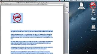 Convert PDF to Word - Mac Version view on youtube.com tube online.