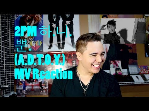 2PM .. A.D.T.O.Y.) MV Reaction