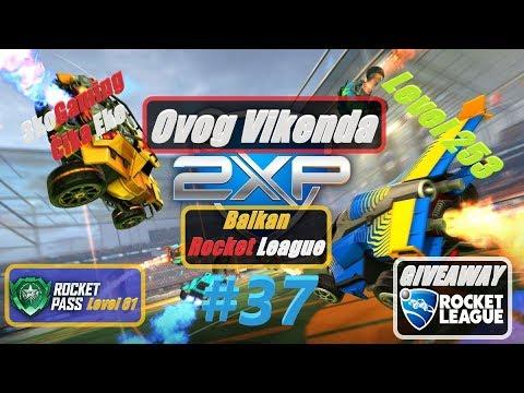 🔴  Extra GamePlay Rocket League Balkan x2 EXP #37 Level 253, Rocket Level 61