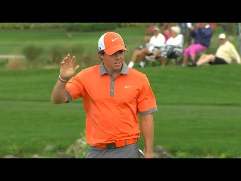 Rory McIlroy drains 45-foot birdie putt at The Honda Classic