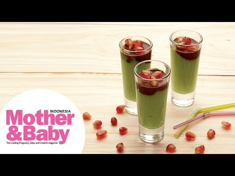 Resep Mother&Baby : Green and Choco Shots