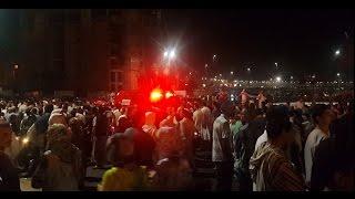هروب المصلين بسبب إنفجار مكبر الصوت بمسجد الحسن الثاني وحالة من الذعر والفزع تسود المكان   |   بــووز