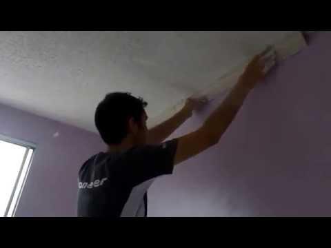 Como colocar moldura de gesso