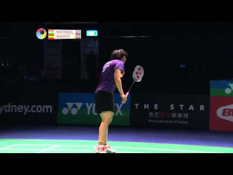 2014 THE STAR AUSTRALIAN BADMINTON OPEN-F-WS-Saina Nehwal (IND) [6] VS Carolina Marin (ESP)