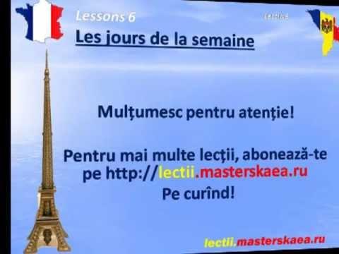 Lectii de franceza  Lectia6