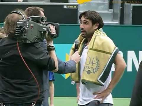 Marcos Baghdatis post match interview
