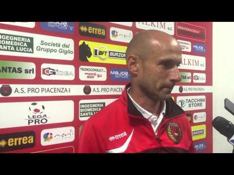 Copertina video Franzini dopo Pro Piacenza-Forlì (playout andata)