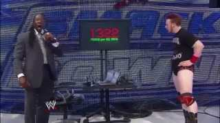 WWE SmackDown 10 12 12 Sheamus Brogue Kick Vs Big Show WMD
