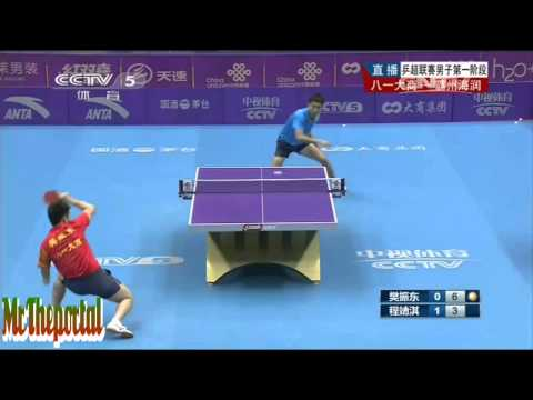 Table Tennis CTTSL 2014 - Fan Zhendong Vs Cheng Jingqi -
