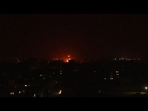 Israeli Airstrikes Hit Gaza Strip