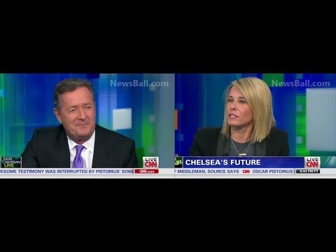 FULL - CHELSEA  HANDLER SLAMS & EMBARRASSES PIERS MORGAN ON HIS OWN CNN SHOW - BITCH VS FOREIGNER