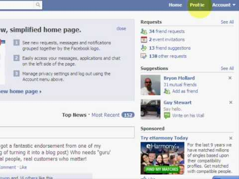 Facebook Basics - How to Use Facebook, Facebook Tips for Business http://www.facebooktipsforbusiness.com A brief overview of the new Facebook design. Learn how to add friends quickly based on your...