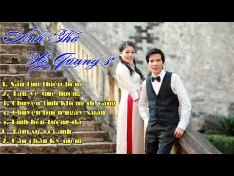 Sầu Tím Thiệp Hồng - Anh Thơ ft. Hồ Quang 8 | Nhạc Vàng Trữ Tình Hay Nhất