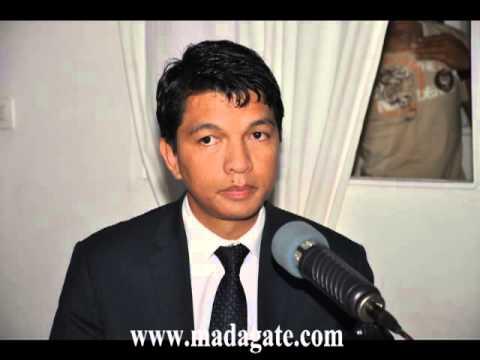 Andry Rajoelina. Radio Antsiva, 3 décembre 2013