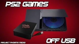 [How To] Play PS2 Games Off Of USB Hard Drive Using OPL V