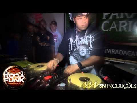 DJ Bráulio :: O DJ Sensação do funk carioca ao vivo na Roda de Funk ::