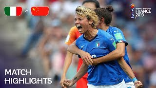 Italy v China PR - FIFA Women's World Cup France 2019™