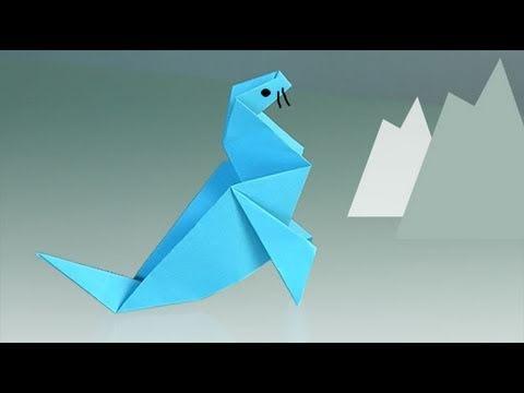 Comment faire un phoque en papier ?