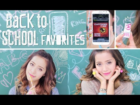 My Back to School Favorites
