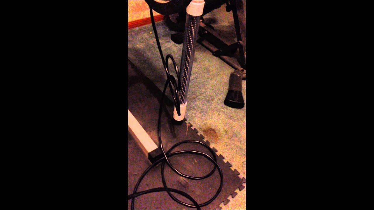 Diy underwater green led fishing light youtube for Homemade fishing light
