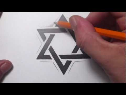 Star of David Tattoo Designs