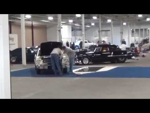 John/Amy Razler leaving northeast auto show 3/2014