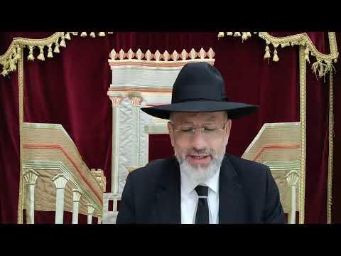 Le Rabbi sur la parashat Pinhas. Un territoire pour chaque tribu pour la famille Nethanel Belhasen