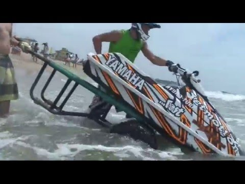 Jet Ski-Freerider - Ross Champion y MX 100 Pierre Maixent-Villa Gesell