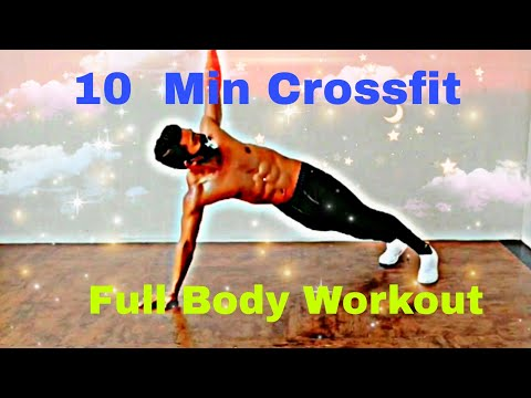 10 Minute Crossfit Full Body Workout 🔥 | NO Equipment | Fat Burning Everyday Routine 💪
