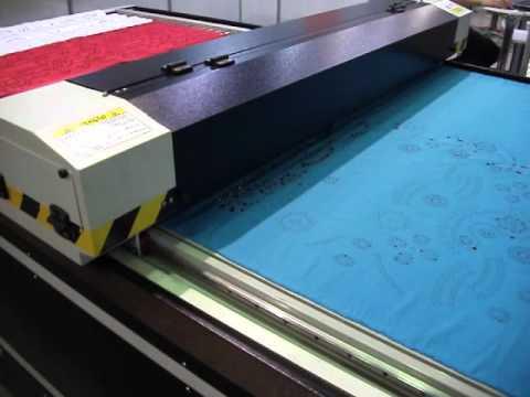 Máquina Futurize FLAT - Corte de tecido a laser