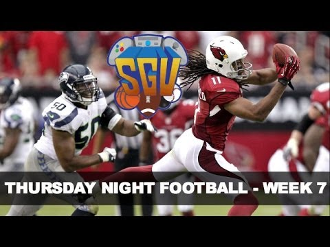 NFL Thursday Night Preview - Week 7 (Seattle Seahawks vs Arizona Cardinals)