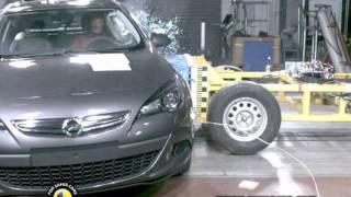 Opel Astra kaza testi - Euro NCAP 2011