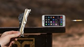 Tes Kekuatan IPhone 6 Plus di dengan peluru