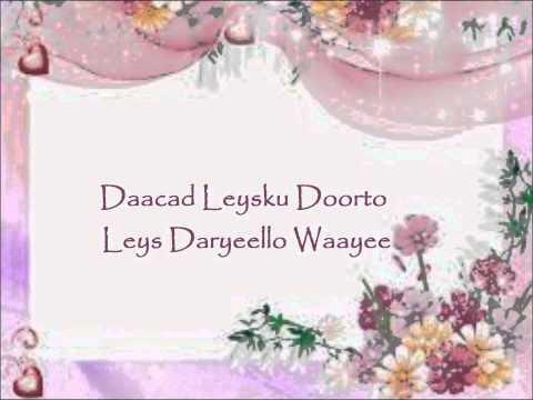 Zulfa Daadba Daadkii Ka Weyn (Lyrics)