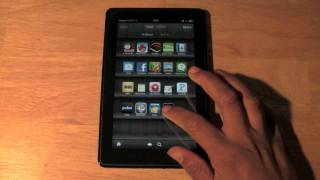 Kindle Fire: How To Delete An App
