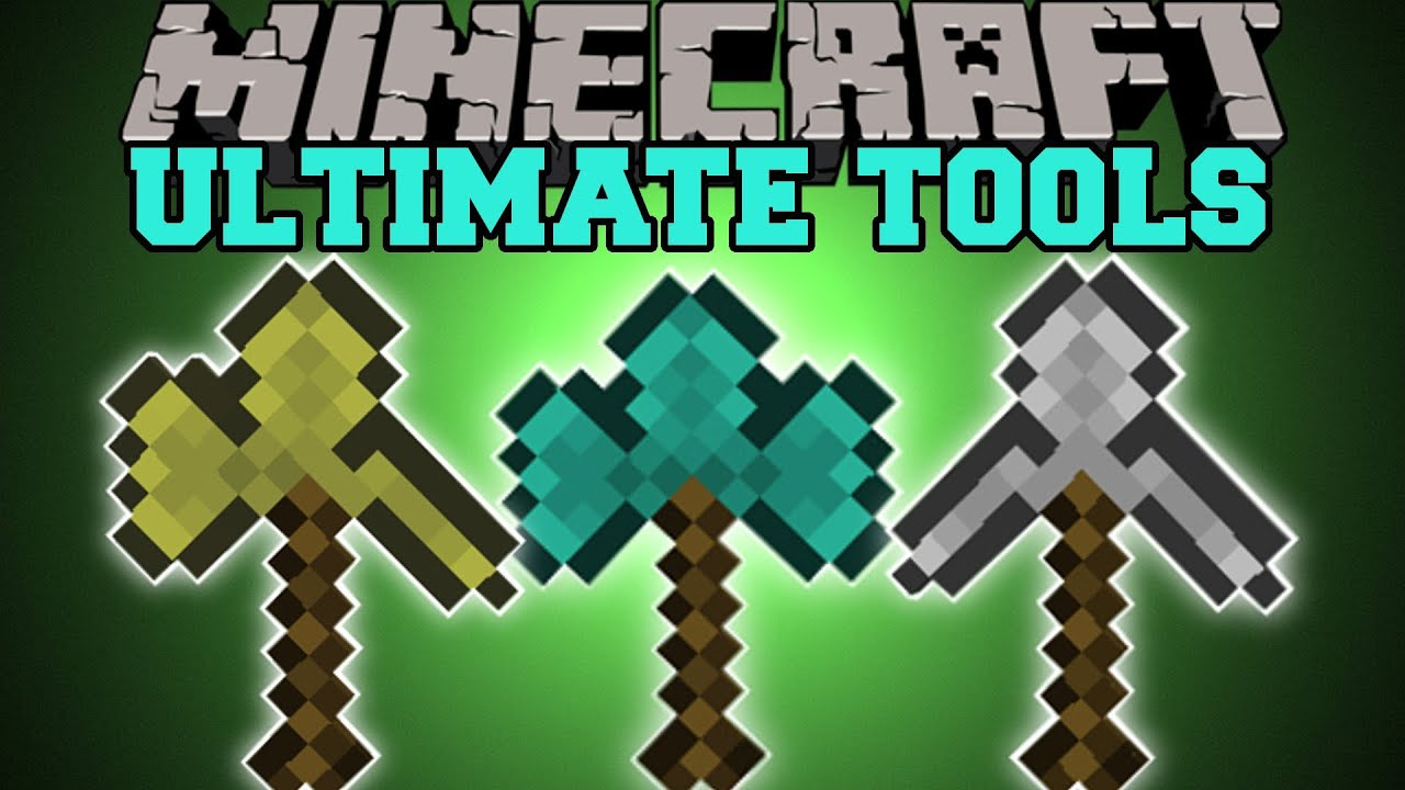 Minecraft : ULTIMATE TOOLS (COMBINE TOOLS BOWS AND SWORDS ...