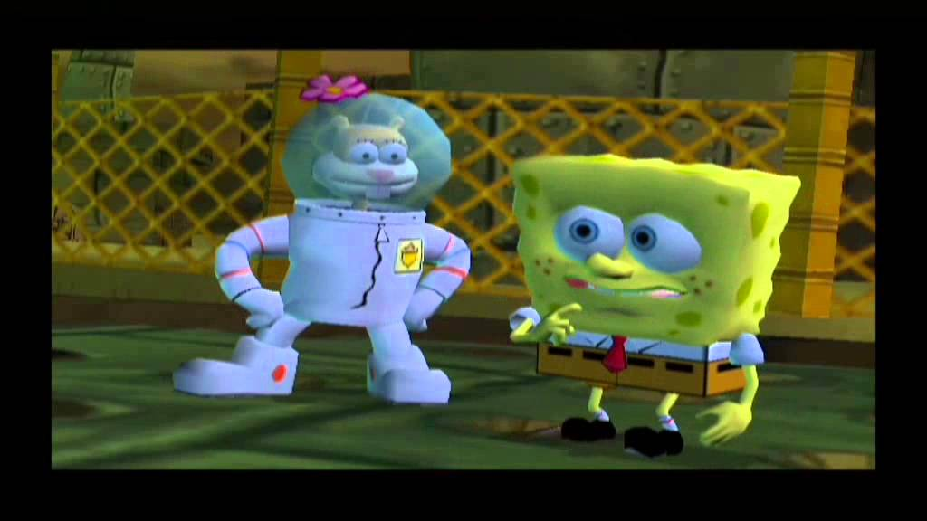 spongebob squarepants battle for bikini bottom all boss