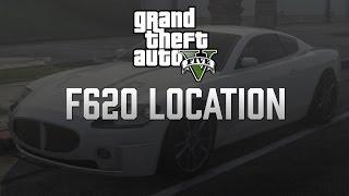 GTA V Online Rare Ocelot F620 (Maserati) Location