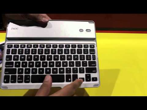 ZAGG Keyboard Pro Plus Hands-On at IFA 2012