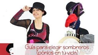Como elegir un sombrero
