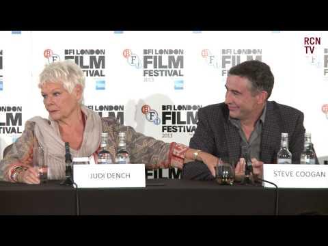 Dame Judi Dench Interview Philomena Premiere