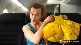Richard Simmons Disco Workout Airplane Safety Video