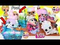 LOL Surprise Dolls Lil Sisters Find Wave 2 Pets Mystery Blind Bags at Playmobil Pool